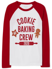 Unisex Kids Matching Family Baking Crew Graphic Tee