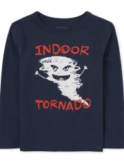 Baby And Toddler Boys Tornado Graphic Tee