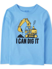 Baby And Toddler Boys Dig It Graphic Tee