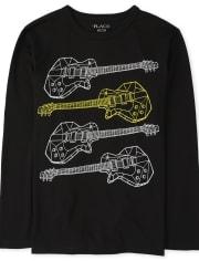 Boys Guitars Graphic Tee
