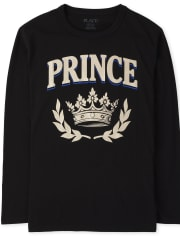 Boys Matching Family Royalty Graphic Tee