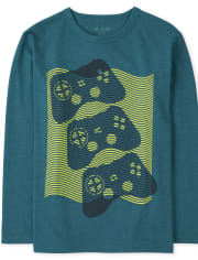 Boys Game Controllers Graphic Tee