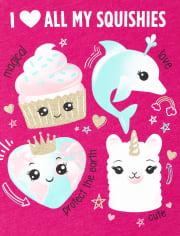 Girls Love Squishies Graphic Tee