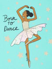 Girls Born To Dance Graphic Tee