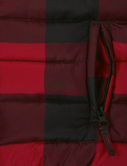 Boys Buffalo Plaid Puffer Jacket