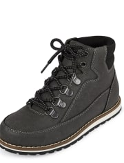 Boys Lace Up Hi Boots