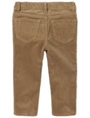 Toddler Boys Stretch Corduroy Pants