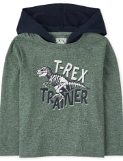 Toddler Boys Graphic Hoodie Top