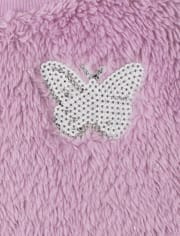 Toddler Girls Butterfly Outfit Set