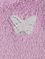 Conjunto de traje de mariposa para niñas pequeñas