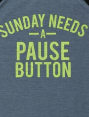 Boys Sunday Pause Pajamas