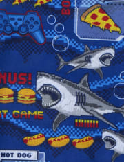 Boys Hangry Shark Pajamas