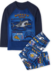 Boys Hangry Shark Pajamas