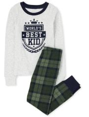 Boys Best Kid Snug Fit Cotton Pajamas