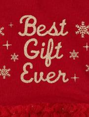 Vestido de tutú tejido a tejido con mejor regalo para niñas bebés