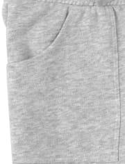 Pantalón jogger de polar activo para niñas