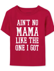 Baby And Toddler Boys Matching Family Mama Graphic Tee