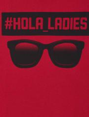 Boys Hola Ladies Graphic Tee