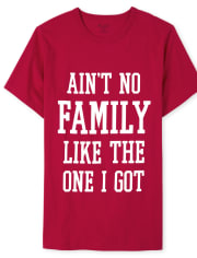 Mens Matching Family Family Graphic Tee