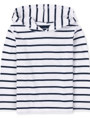 Baby And Toddler Boys Striped Hoodie Top