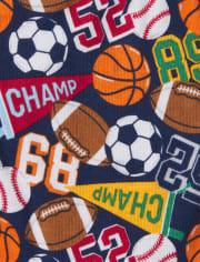 Boys Sports Briefs 7-Pack