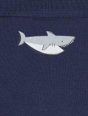 Toddler Boys Shark Briefs 7-Pack