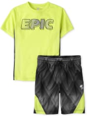 Boys 2-Piece Performance Set