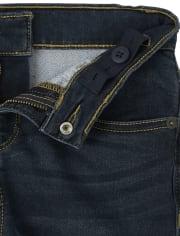 Boys Super-Soft Stretch Denim Shorts