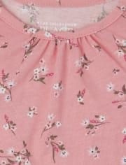 Toddler Girls Heart Twill Skirtall 2-Piece Set
