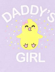 Toddler Girls Chick Outfit Set