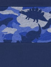 Pack de 3 camisetas de dinosaurio para bebés y niños pequeños
