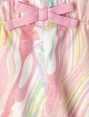 Girls Print Shorts