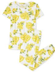 Pijama de algodón a juego floral Mommy And Me para mujer