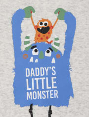 Baby And Toddler Boys Monster Snug Fit Cotton Pajamas