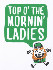 Baby And Toddler Boys St. Patrick's Day Mornin Ladies Graphic Tee