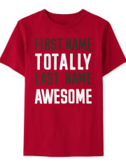 Boys Awesome Graphic Tee
