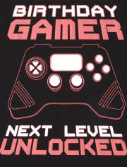 Boys Birthday Gamer Graphic Tee