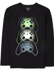 Boys Video Game Graphic Tee