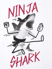 Boys Shark Graphic Tee 3-Pack