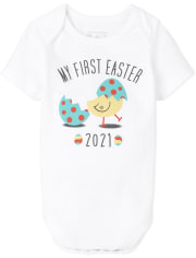 Unisex Baby And Toddler First Easter Graphic Bodysuit