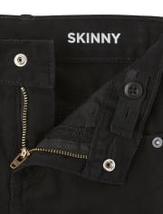Boys Basic Skinny Jeans 3-Pack