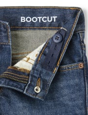Boys Basic Bootcut Jeans 2-Pack
