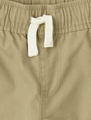 Boys Uniform Pull On Jogger Shorts 3-Pack