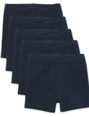Pack de 5 pantalones cortos Cartwheel para niñas pequeñas