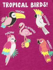 Toddler Girls Trend Graphic Tee 4-Pack