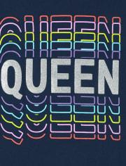 Girls Queen Graphic Tee