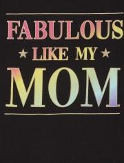 Girls Like My Mom Graphic Tee