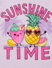 Girls Summer Graphic Tee 3-Pack