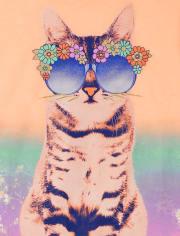 Girls Cat Graphic Tee 3-Pack