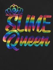 Girls Slime Queen Graphic Tee